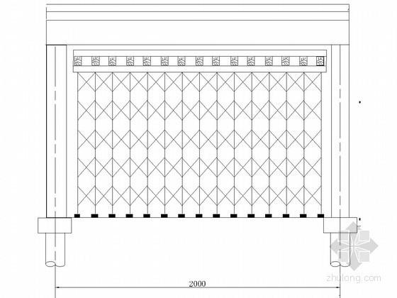 六孔一联箱梁现浇施工方案图(门型架)