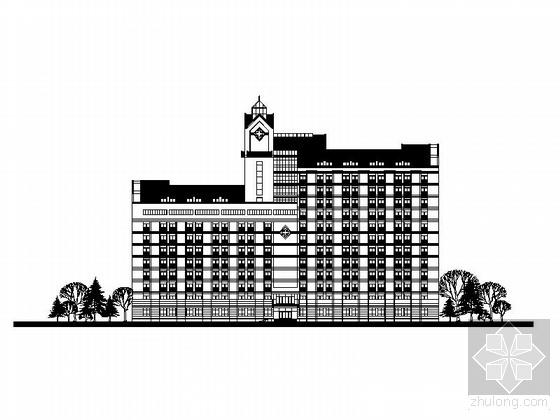 [绍兴]某人民医院规划方案(含效果图)