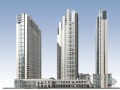 [常熟]某商业及居住用地项目建筑方案文本