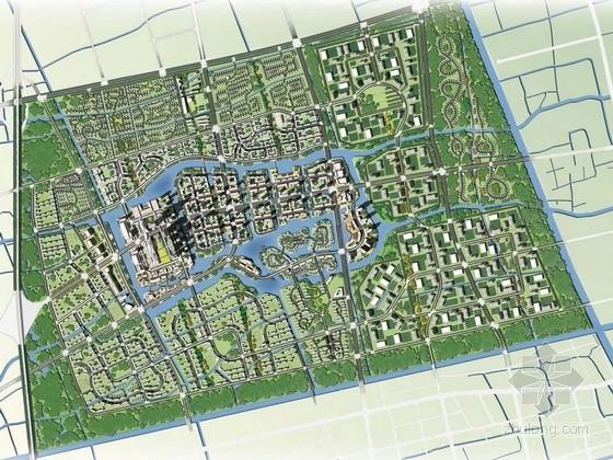 [上海]国际都市活动新城区景观规划设计方案-[上海]国际都市活动知名地产区景观规划设计方案
