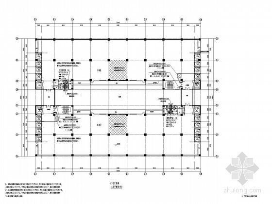 [东莞]某文化中心通风及防排烟设计施工图(甲院出品)