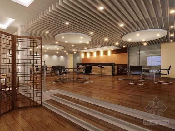 [大连]世界最高档之一汽车品牌现代4S店室内概念方案图客户餐区及上网区效果图