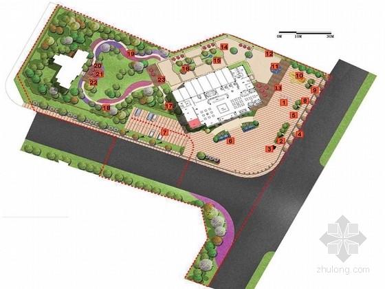 [重庆]现代简约城市花园示范区景观设计方案