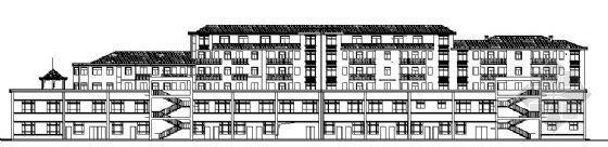 某音乐城D栋(商住)建筑、结构施工图