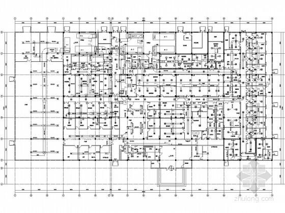 [江苏]单层车间空调通风及防排烟系统改造设计施工图