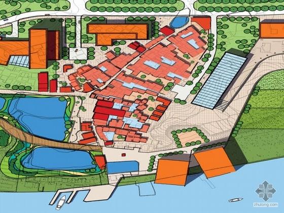 [广州]某大学城练溪展览中心概念设计方案、文本及PPT讲义(另含现状照片及实例)