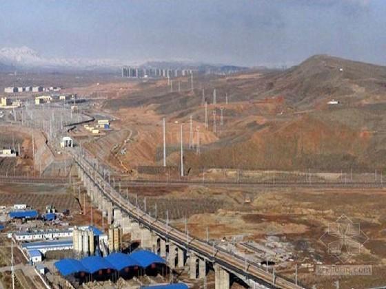[新疆]沙漠地区铁路路基施工工艺汇编104页(地基路堤边坡防风)