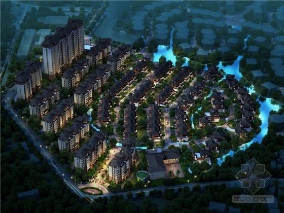[南昌]美式风格别墅小区建筑设计方案文本