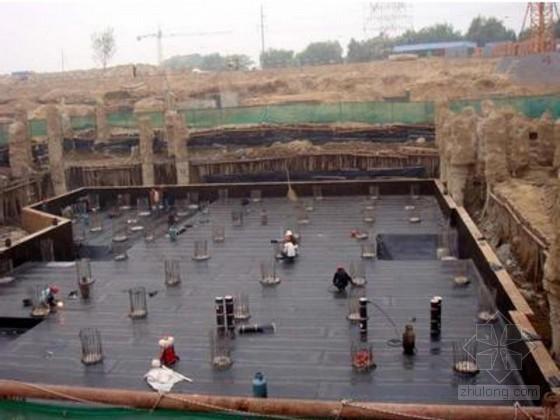 [上海]高层住宅楼基坑真空井点降水施工方案