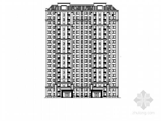 [浙江]18层现代风格单体住宅建筑施工图(甲级设计院)