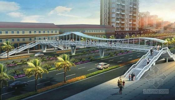 [广东]天桥改造市政工程量清单计价实例(附全套图纸)
