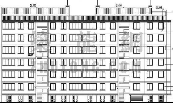 某小区住宅楼建筑施工图(3)-2