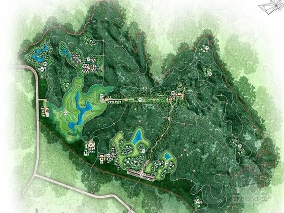 [重庆]巴蜀风情生态休闲观光园区景观规划设计方案