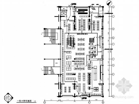 [杭州]某商贸公司超市室内装修图