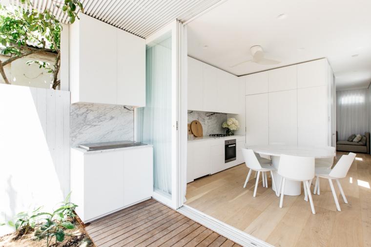 悉尼:清新优雅的住宅改造计划_3