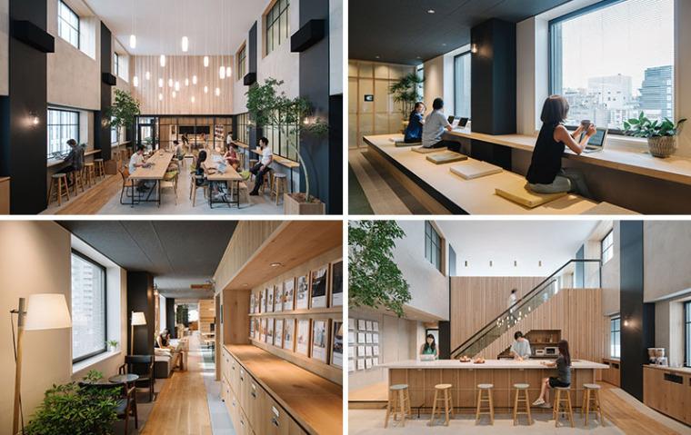 东京:Airbnb 如家一般的办公室