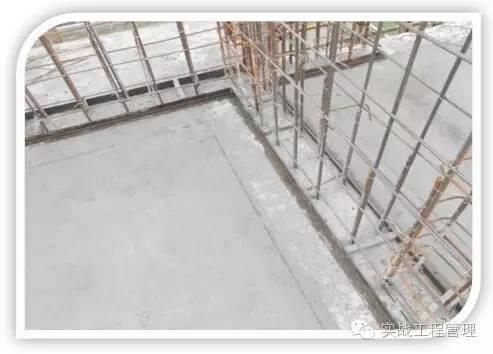防止剪力墙及框柱下脚漏浆变形施工工艺