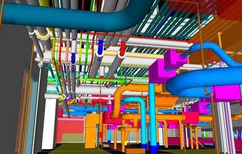 VRV空调自控系统资料下载-BIM技术在暖通空调设计中的应用分析