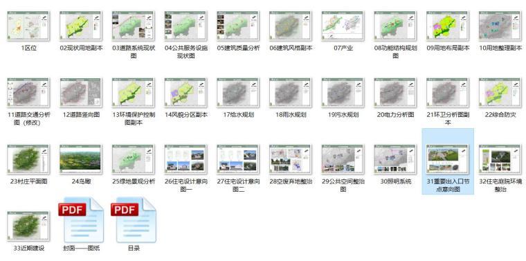 【陕西】某县淡村镇荆川村村庄规划方案设计PDF(33页)_8
