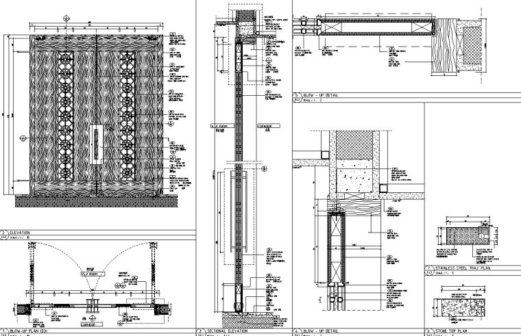 [天津]某五星级酒店中餐厅施工图