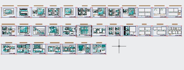 [金螳螂]轻钢龙骨纸面石膏板隔墙设计施工图收口节点深化-附件预览图2