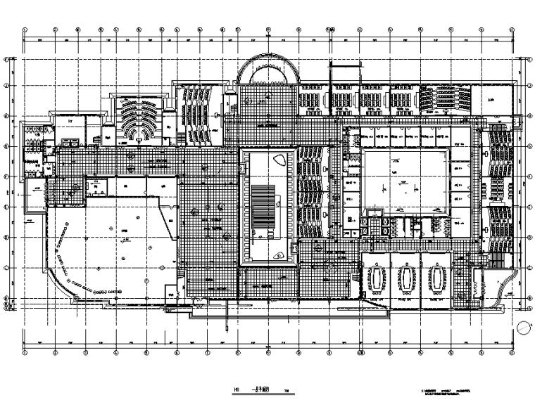 [黑龙江]哈尔滨工业大学教学楼装修设计施工图