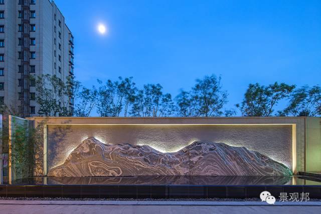 高颜值 · 景观墙