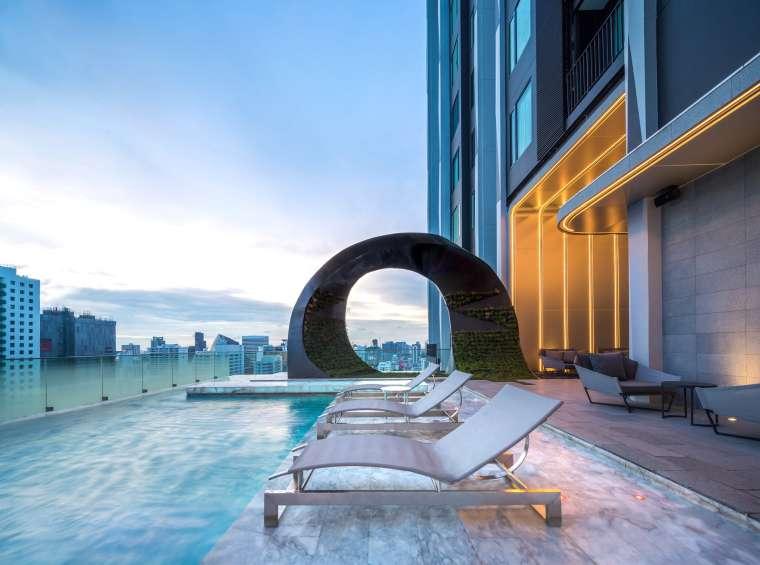 曼谷中心豪华公寓景观-661d6f4e