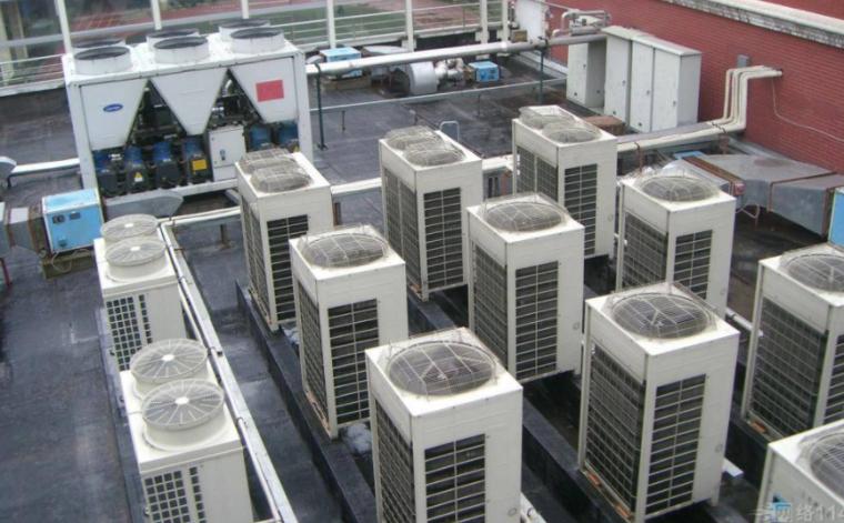VRV空调自控系统资料下载-空调节能及BIM技术在工程中的应用