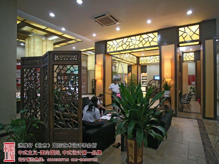 新中式售楼处装修效果图,高档奢华富有内涵_4