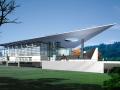 罗湖体育馆建筑设计施工图效果图