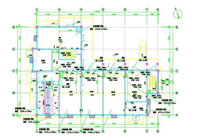 某住宅配套公建暖通图
