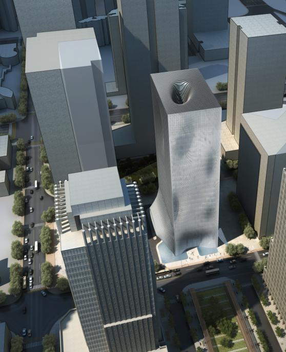 多栋现代风格超高层创业办公大厦建筑设计方案文本