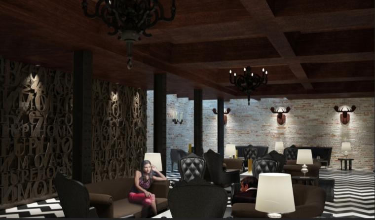 [洛杉矶]TCHBoutiqueHotel室内设计方案(20张)