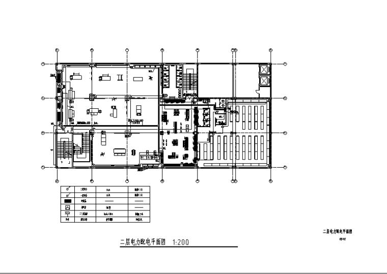 大型服装店强电设计图纸_4