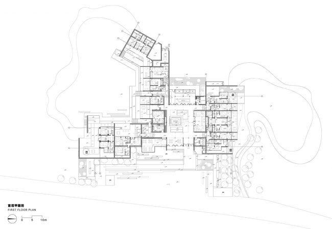洛奇-特色溪堂民宿酒店的设计与创意(日景效果图与夜景效果图)