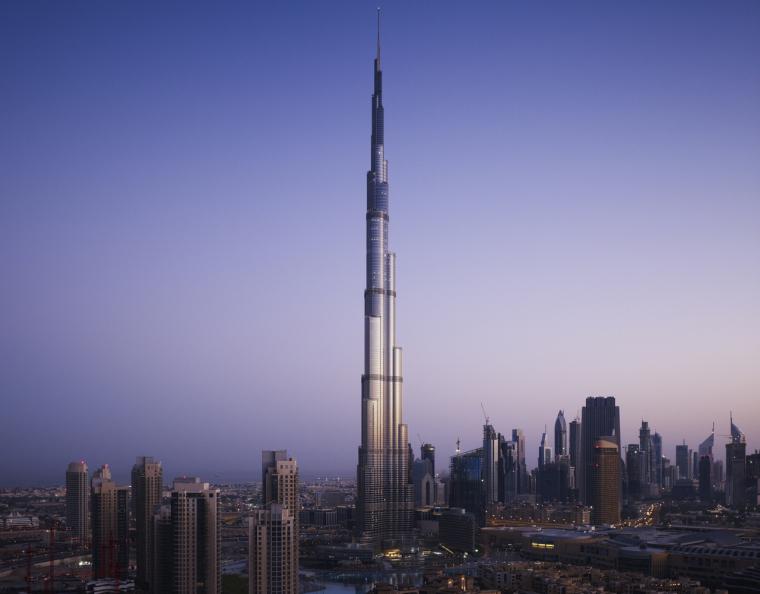 迪拜哈利法塔建筑