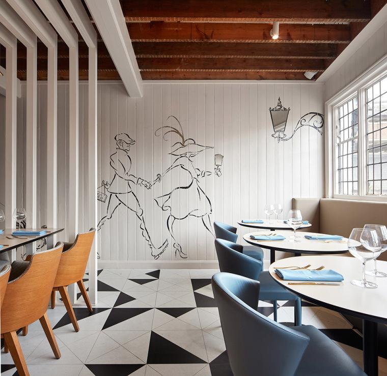 英国CocoRetro餐厅-8
