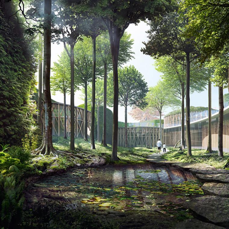 童话迷宫中的丹麦安徒生博物馆——隈研吾