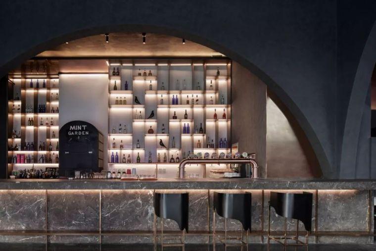 简单,酷,有质感,薄荷花园酒吧