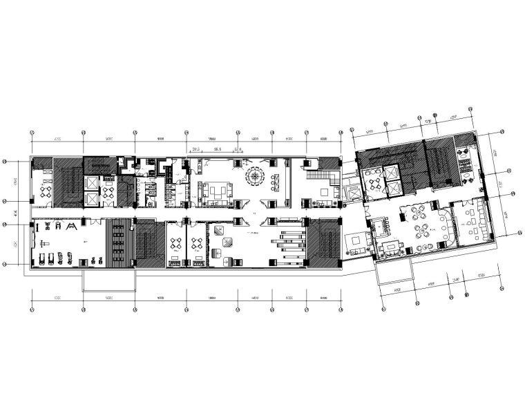 [浙江]PTangStudio-海宁会所CAD全套施工图(附效果图)