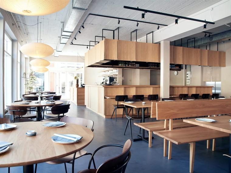 哥本哈根北欧风味的日本料理店