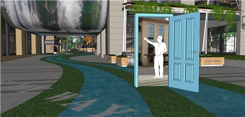 商业街氛围营造|打破空间,打造另类购物体验——梅澜坊商业街之-25