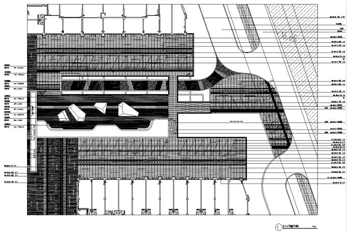 [江苏]新古典主义特色商业街景观设计图纸(方案+施工图+PDF施工图)