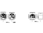 [北京]某四层南梯叠拼别墅户型平面图(170、190平方米)
