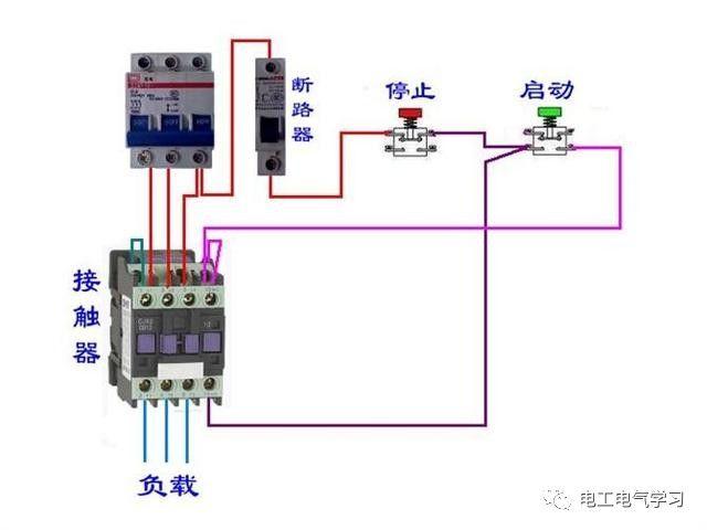 【电工必备】开关照明电机断路器接线图大全非常值得收藏!_44