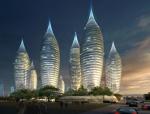 时尚高端建筑3D模型下载