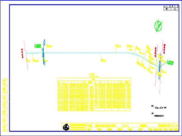 道路工程施工设计图(共51张,含工程说明文档)