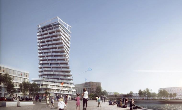 法国扭曲住宅塔楼-4
