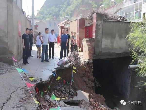 书记检查汛期地质灾害防治工作